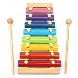 Ogquaton Kreative 8 Notizen Musikalische Xylophon Hand Klopfen Klavier Spielzeug Multicolor Kinder Frühe Entwicklungs Musikinstrument...