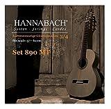 Hannabach 653089 Klassikgitarrensaiten Serie 890 3/4 Kindergitarre Mensur: 57-61cm - Satz