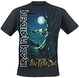 Iron Maiden Fear of The Dark Männer T-Shirt schwarz M 100% Baumwolle Band-Merch, Bands