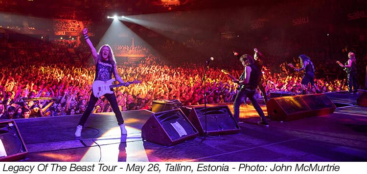 Iron Maiden Bandbeschreibung Mitglieder Konzerte